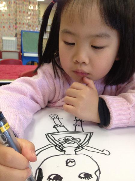 的培养.下面我针对绘画做一些浅简的讲述:-3 6岁是培养孩子艺术